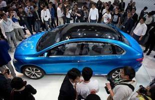 Denza elétrico, fruto da Daimler com a chinesa BYD