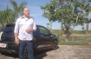 Emílio Camanzi testa o Citroën DS3