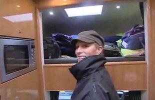 Super caminhão 'horsebox ' da Zara Phillips neta da rainha Inglesa