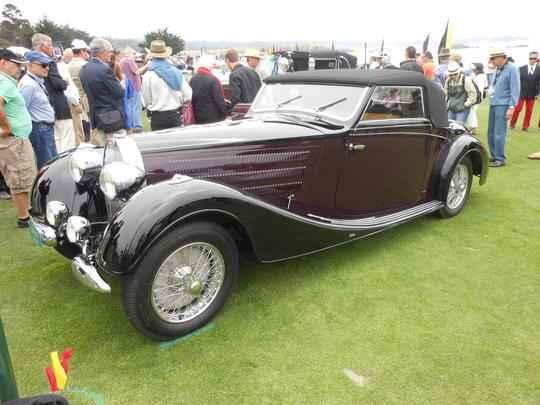 BUGATTI 1937 TYPE 57 C VANVOOREN CABRIOLET