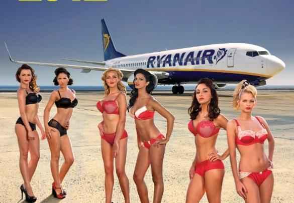 Calendário de aeromoças da Ryanair