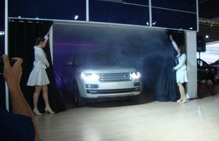 Range Rover é apresentado no Salão Internacional de São Paulo