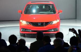 Honda Civic 2013 é apresentado no Salão de Los Angeles