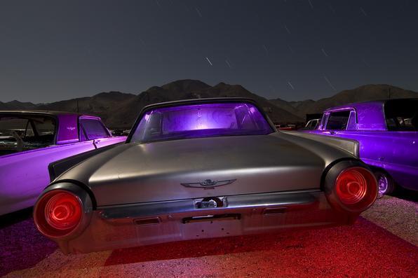 Ford Thunderbird - O fotógrafo Troy Paiva registra fotos noturnas incríveis no Oeste dos EUA