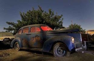 1940 Studebaker Commander Cruising Sedan - Troy Paiva registra imagens noturnas no Velho Oeste dos EUA