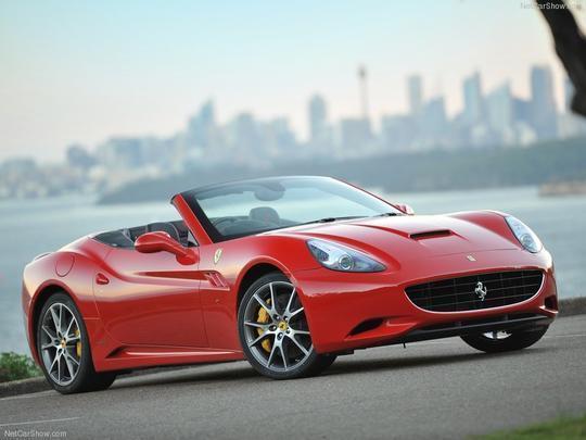 3º - Ferrari California 2012: R$ 51.656 Valor comercial: R$ 1.315 milhão