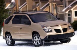 As linhas do Pontiac Aztek eram tão horríveis que o modelo foi fabricado durante pouco tempo e decretou o fim da marca