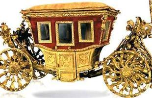 Carruagem Berlina di Gran Gala, usada pelo Papa Leão XII