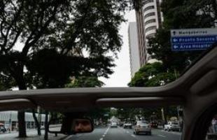 Voltamos ao Centro! As árvores é um dos poucos pontos comuns da Avenida Afonso Pena da época da inauguração de Belo Horizonte com a BH de 2013