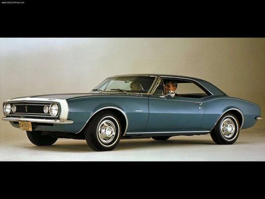 Camaro Geração 1: 1967-1969