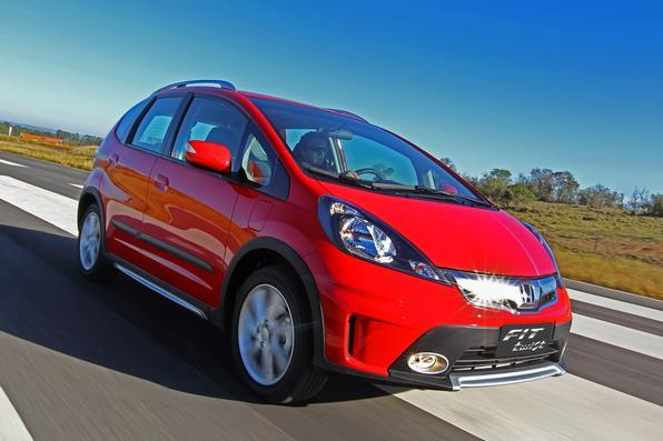 Sem mudanças significativas no visual, Honda Fit Twist chega ao modelo 2014
