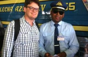O engenheiro Bernardo Elian foi um dos passageiros da segunda viagem do Flecha Azul