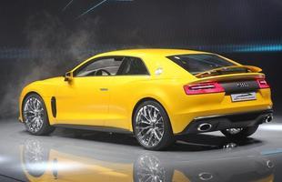 Audi Quattro Sport Concept Hybrid car