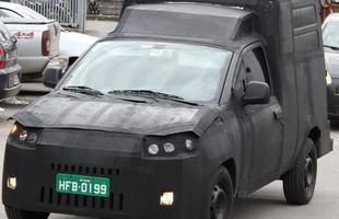 Fiat Fiorino em testes