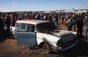 Leilão vende carros antigos zero quilômetro nos Estados Unidos. Mais de US$ 500 mil já foram arrecadados