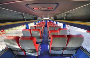 Ônibus foi totalmente reformado para as últimas viagens