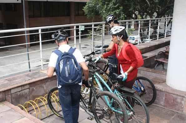 Bicicletário na PUC ajuda e incentiva cada vez mais os novos estudantes-ciclistas