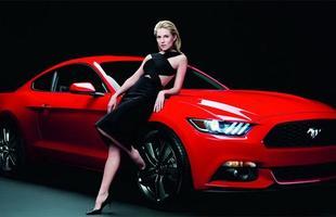 Sienna Miller e Ford Mustang