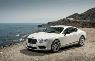Bentley Continental V8  (Gasolina) 4,5 km/l na cidade 6,4 km/l na estrada