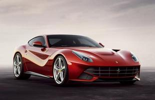 Ferrari F12 berlinetta  (Gasolina) 4,7 km/l na cidade 6,5 km/l na estrada