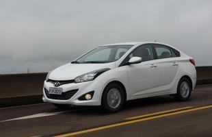 Hyundai HB20S 1.0  Consumo urbano: 8 km/l - etanol / 11,5 km/l -gasolina *** Consumo de estrada: 10,1 km/l - etanol / 14,4 km/l - gasolina