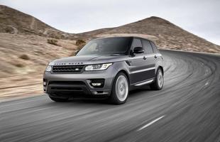 Range Rover Sport  (Gasolina) 4,9 km/l na cidade 7,3 km/l na estrada