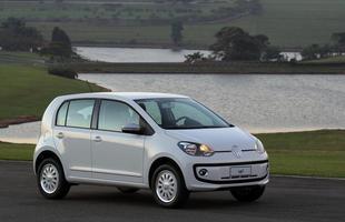 Volkswagen Up! (automatizado) Consumo urbano: 9 km/l - etanol / 13 km/l - gasolina *** Consumo de estrada: 10 km/l - etanol / 14,4 km/l - gasolina