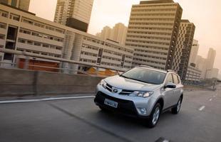 Na linha 2014, Toyota RAV4 2.0 4x2 tem preço inicial de R$ 101.820