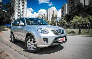 Chery Tiggo Automático chega ao Brasil por R$ 57.990. (Thiago Henrique/Bufalos/Chery Divulgação)