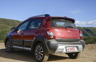 Toyota Etios Cross (Foto: Thiago Ventura/EM)
