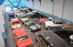 Coleção de veículos apreendidos tem valor estimado em R$ 20 milhões