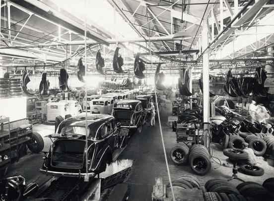 Antiga fábrica de montagem da GM do Brasil