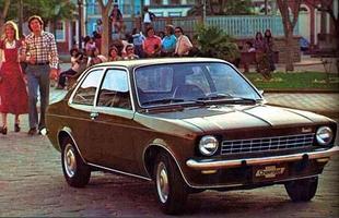 Chevette foi lançado em 1973