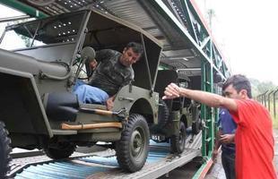 Jipes de colecionadores mineiros vão participar de viagem na Itália em homenagem à FEB
