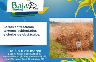 Disptua de Baja SAE Brasil