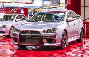 Mitsubishi Lancer Evolution X John Easton - 2015