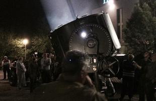 Canhão de luz original da Segunda Guerra