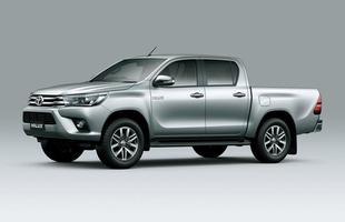Oitava geração da picape Toyota Hilux é revelada na Tailândia