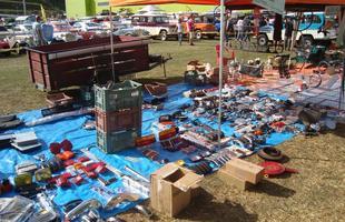 Encontro de carros antigos AVA 2015 em Juiz de Fora