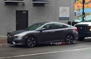 Novo Honda Civic flagrado pelo Fórum Civic X
