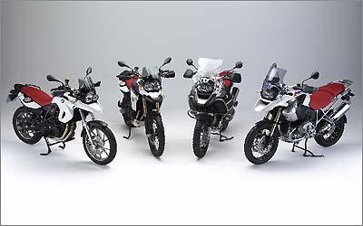Além da R 1200 GS normal e Adventure, a edição comemorativa se estende às novatas F 800 GS e F 650 GS  - Fotos: BMW Motorrad/Divulgação