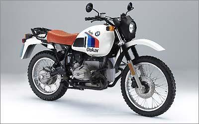 A linhagem começou em 1980 com a R 80 GS, com motor de 800 cm³, que venceu o Paris-Dakar no ano seguinte -