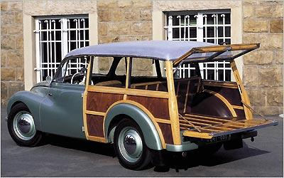 Perua alemã DKW Universal F89 S esbanja beleza e charme com carroceria construída parcialmente em madeira - DKW/Divulgação