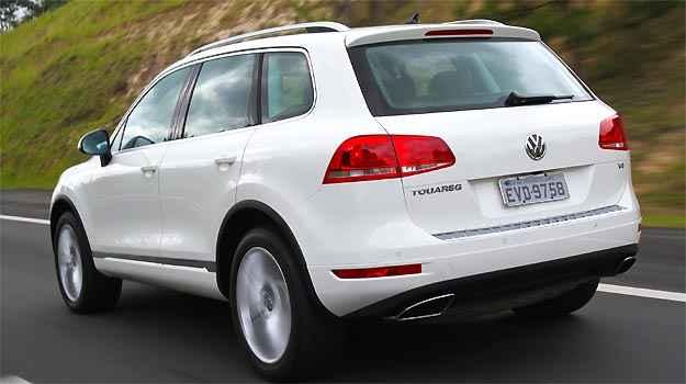 Volkswagen Touareg 2011 - Quando menos é mais - Vrum