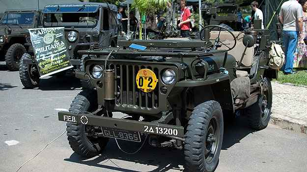 Willys MB 1942 (Thiago Ventura/Portal Uai/D.A Press)