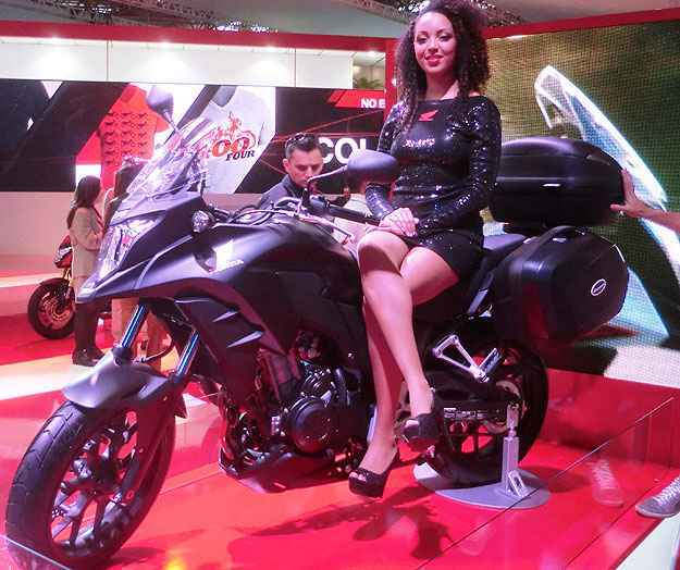 Com motor de dois cilindros, a Honda CB 500X chega em 2014 - Teo Mascarenhas/Esp. EM
