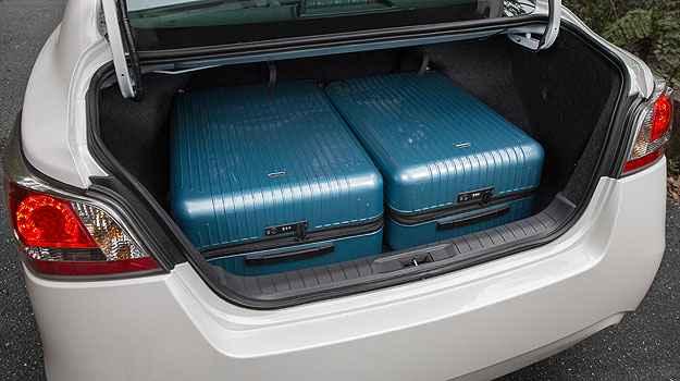 Porta-malas tem capacidade para levar a bagagem da família - Marcos Camargo/Nissan/Divulgação