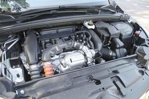 Um dos destaques do carro é o eficiente motor 1.6 turbo - Marlos Ney Vidal/EM/D.A Press