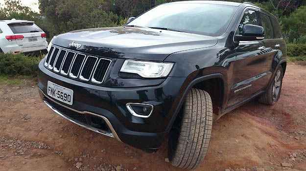 Novo Jeep Grand Cherokee diesel encara trilhas e buracos com elegância e conforto