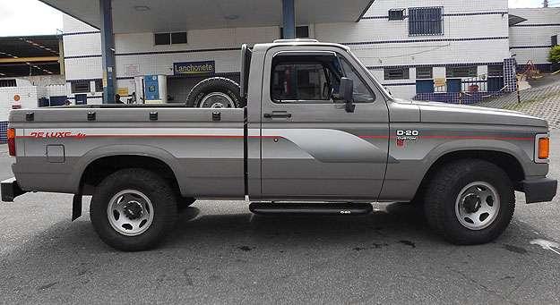 Vendedor garante autenticidade e diz que D-20 está neste estado de fábrica - Cláudio Sperandio/Divulgação